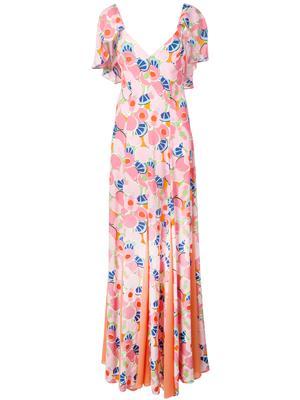 Baya Maxi Floral Print Dress