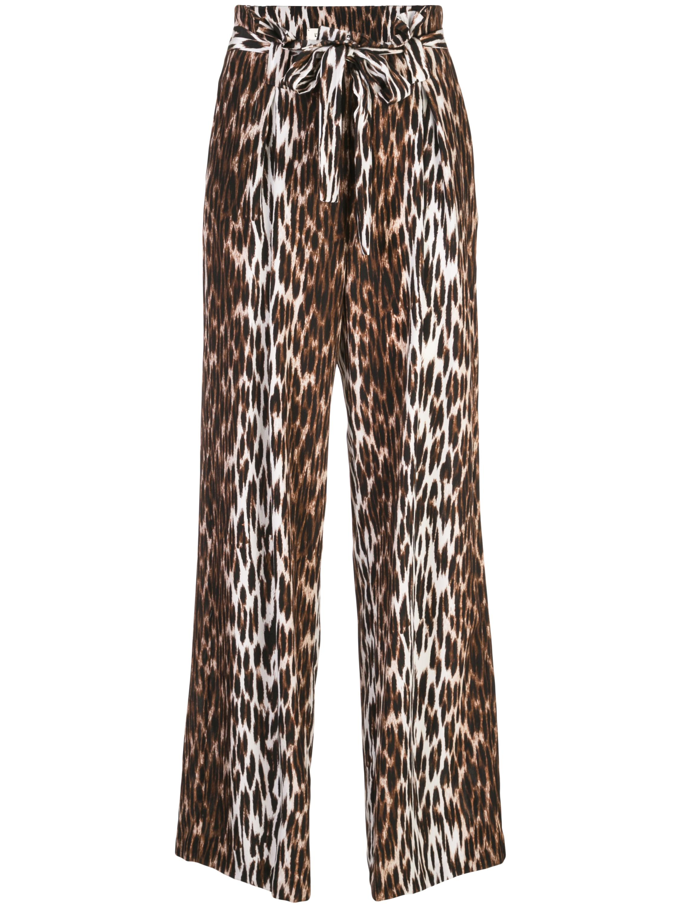 Bobby Leopard Paperbag Pant 33inches