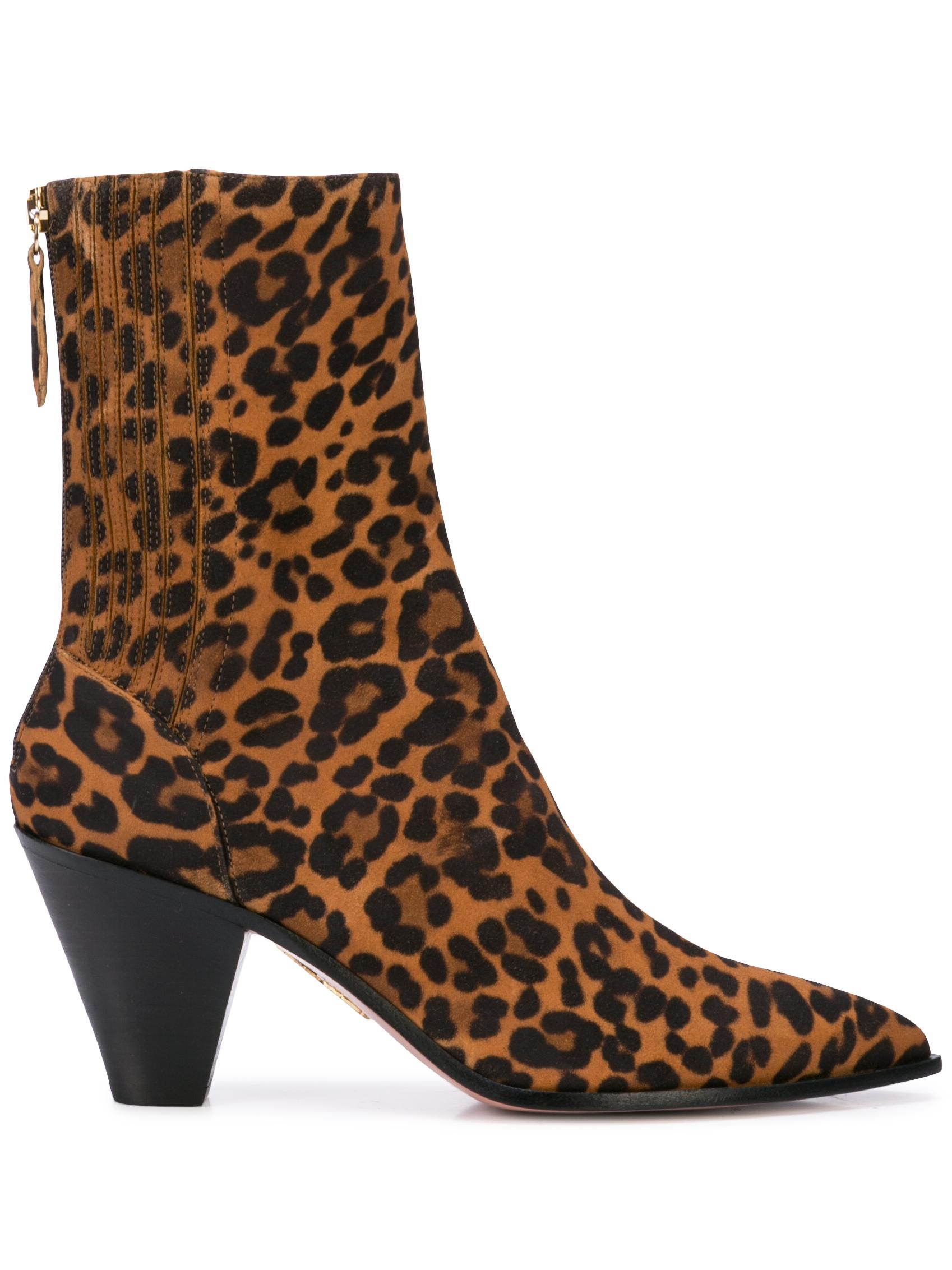 Saint Honore ' 70mm ' Jaguar Suede Bootie Item # SHOMIDB2-JAS