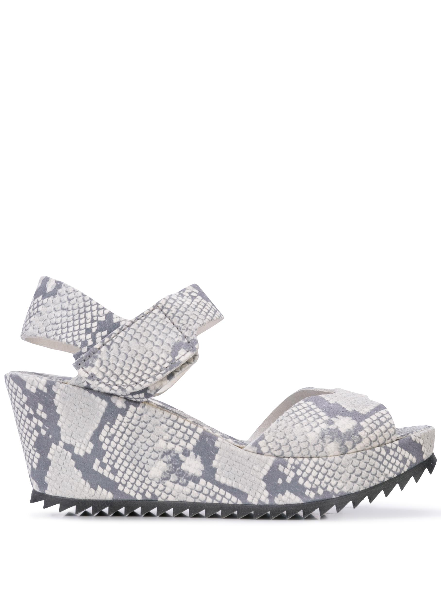 Platform Wedge Ankle Strap Sandal