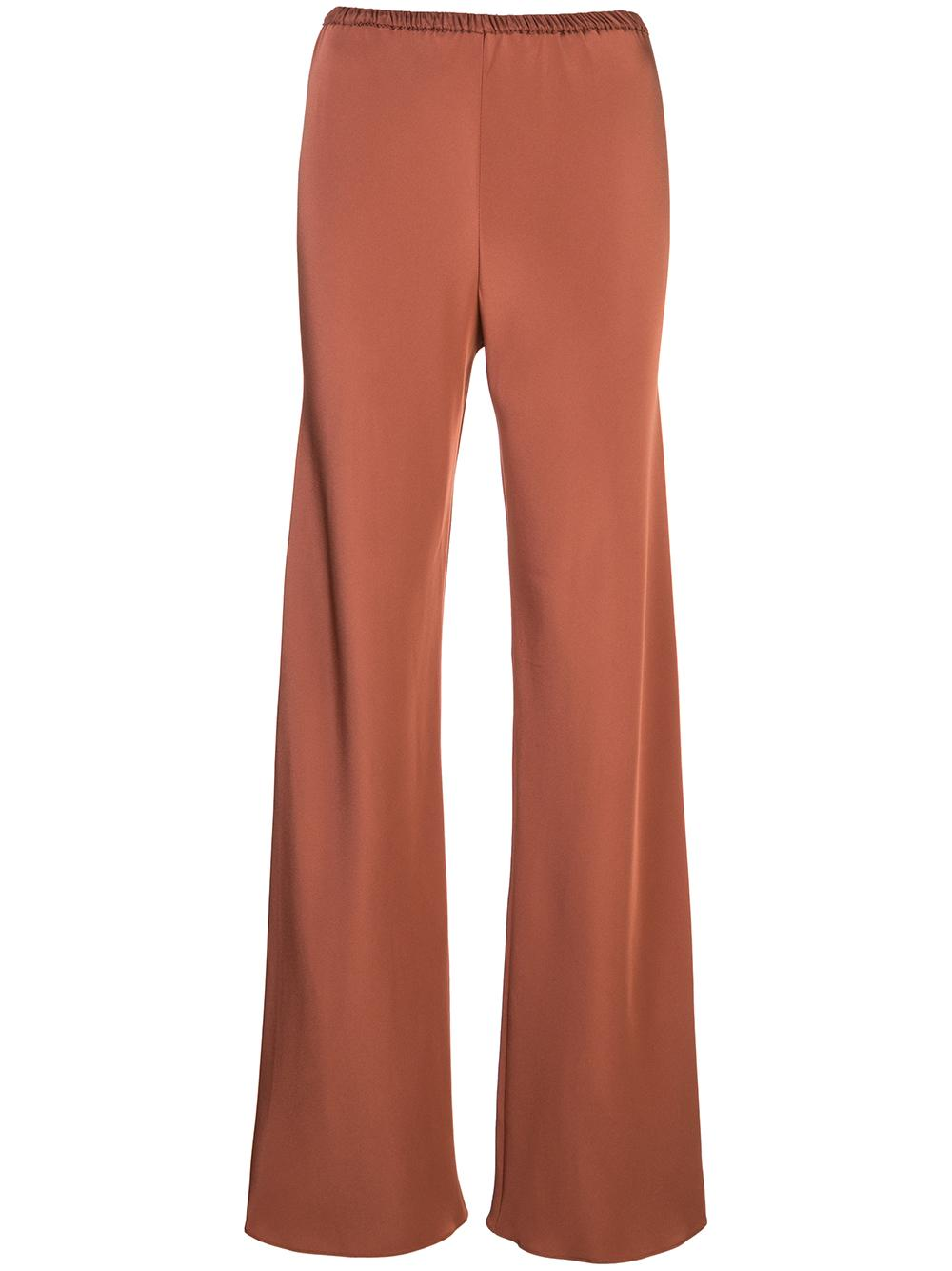 Bias Wide Pant Four  Ply Silk
