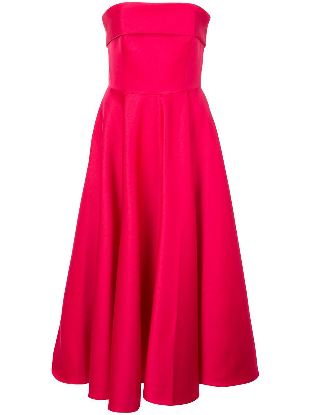 Pettigrew Strapless Midi Dress