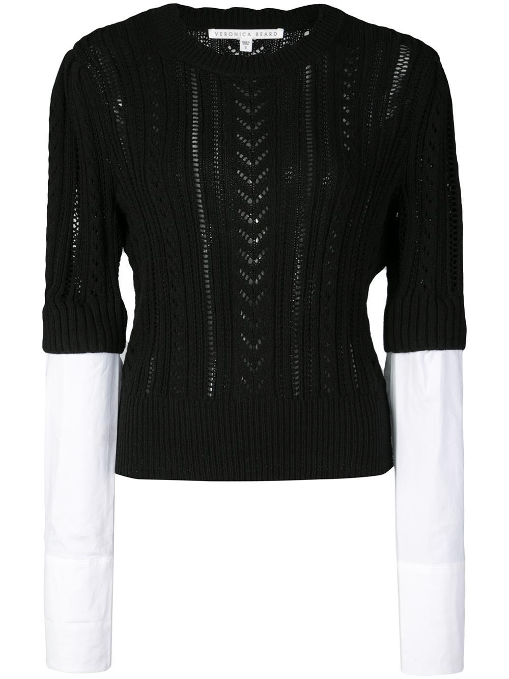 Spence Mixed Media Sweater Item # 1906KN4419290