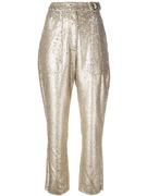 Distress Sequin Pant