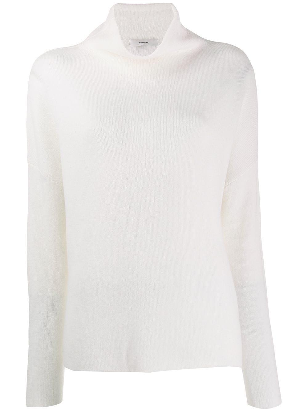 Funnel Neck Pull Over Sweater Item # VS75178328