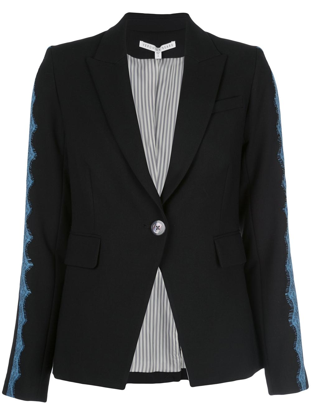 Damari Dickey Jacket With Lace