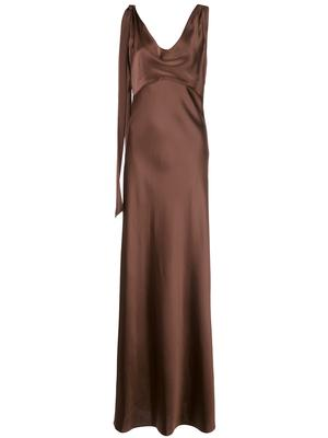 Sia Cowl Neck Gown