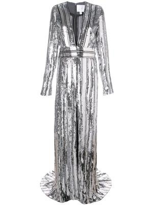 Stardust Long Sleeve Gown