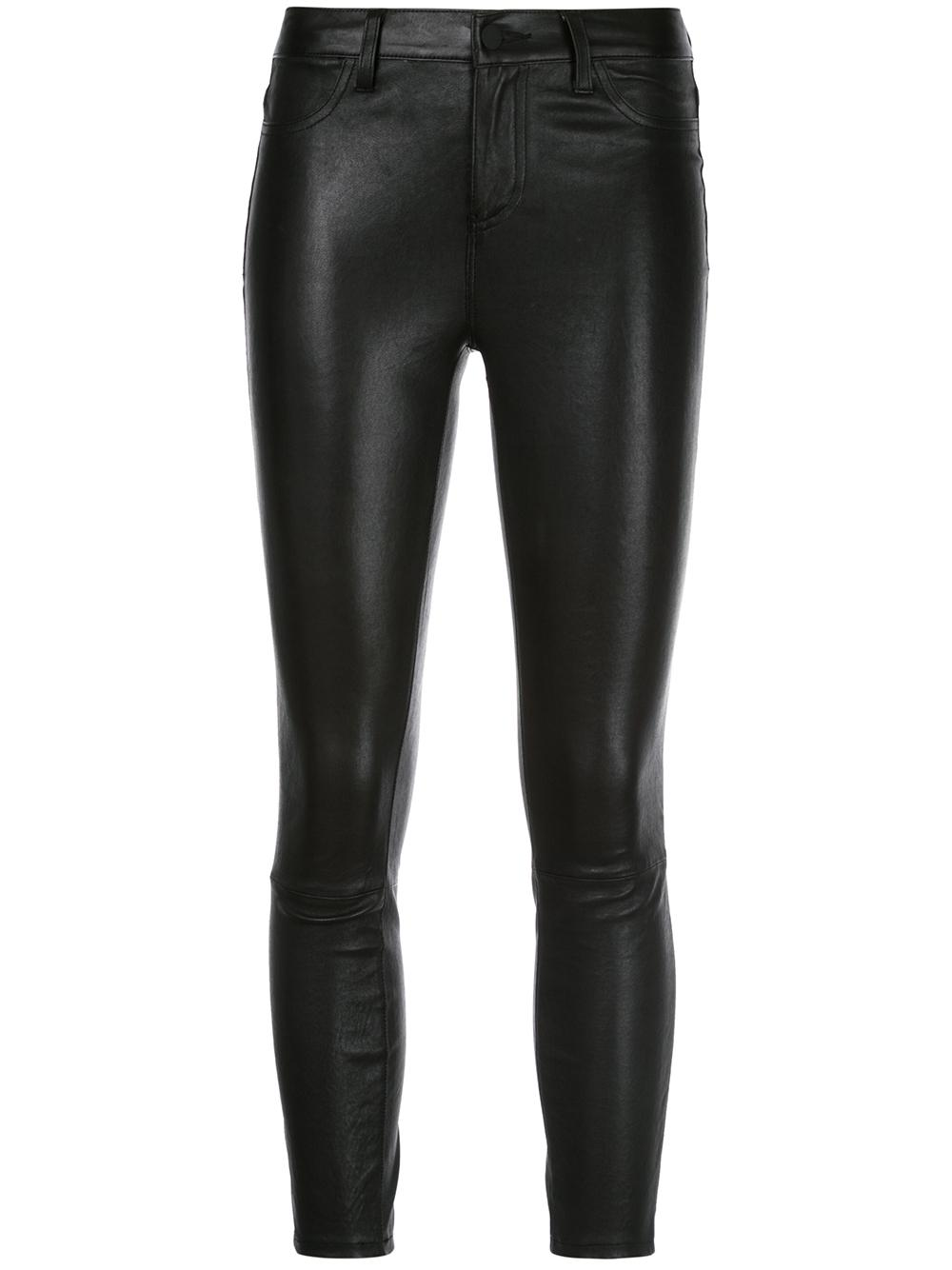 Adelaide Leather High Rise Skinny Pant Item # 2377SVC