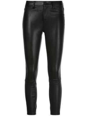Adelaide Leather High Rise Skinny Pant