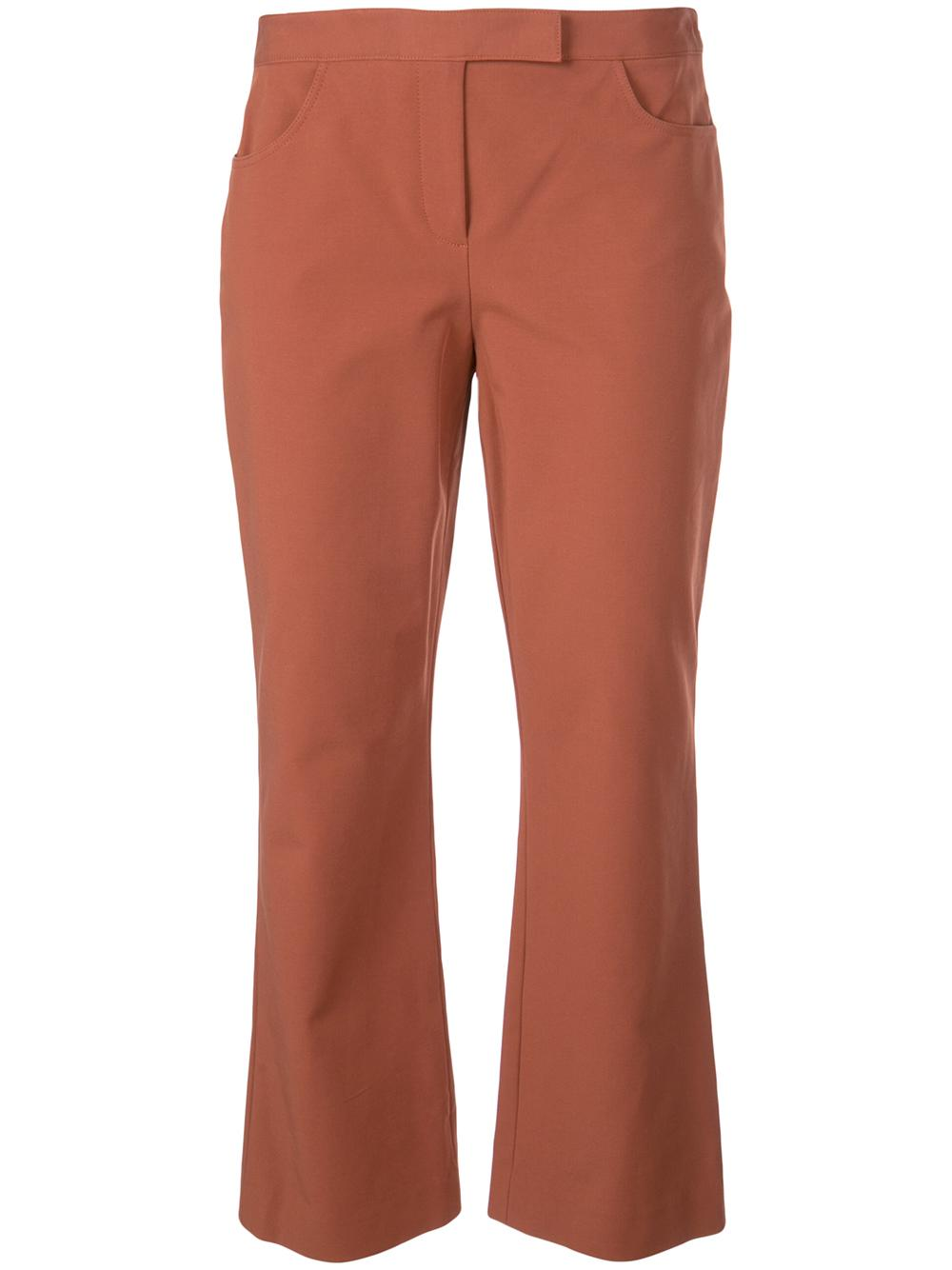 Crop Double Crepe Pant