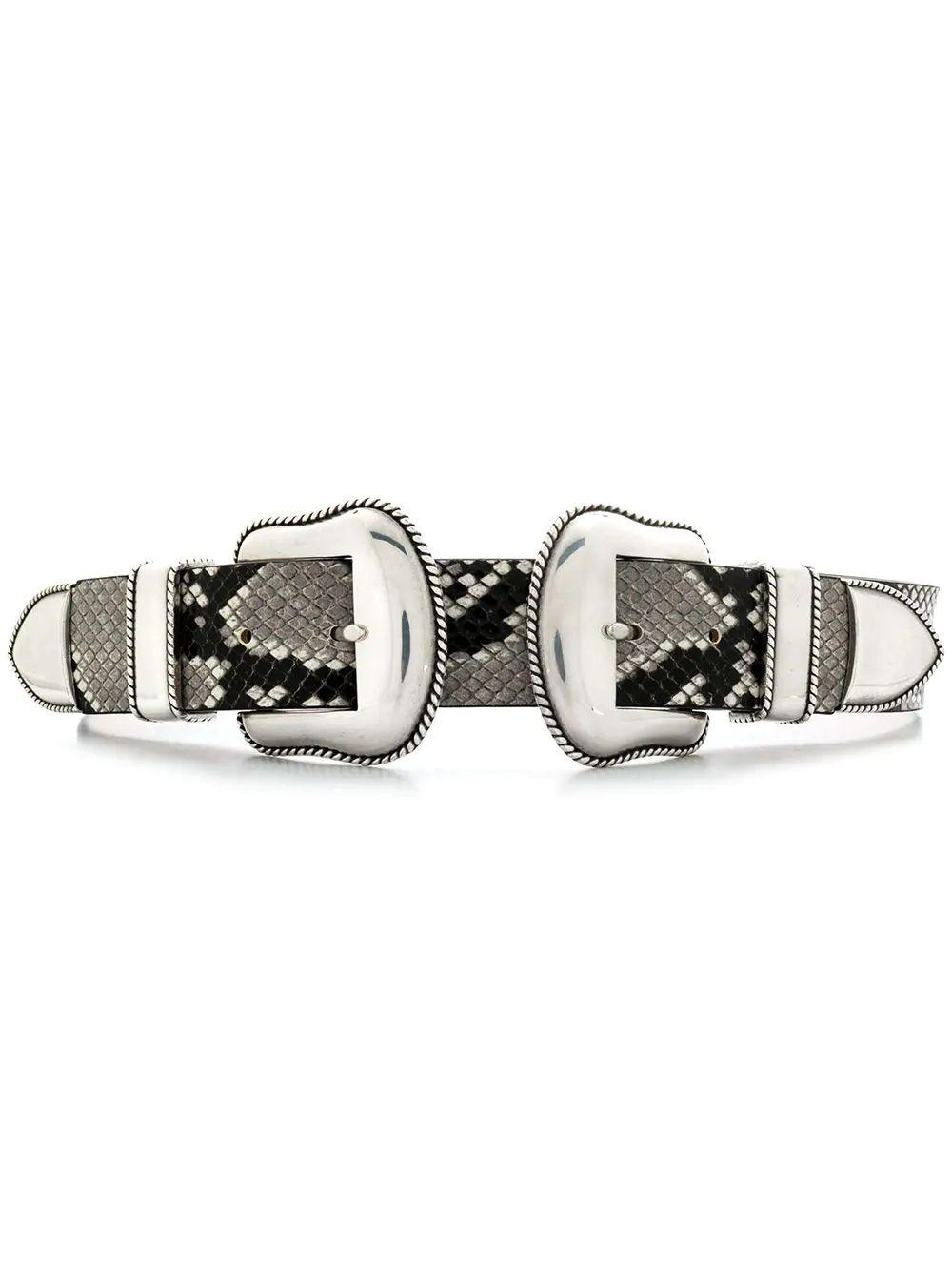 Rouge Python Double Buckle