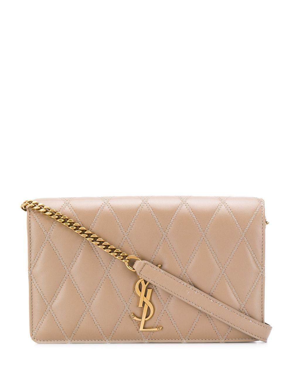 Angie Patch Zig Zag Crossbody Bag