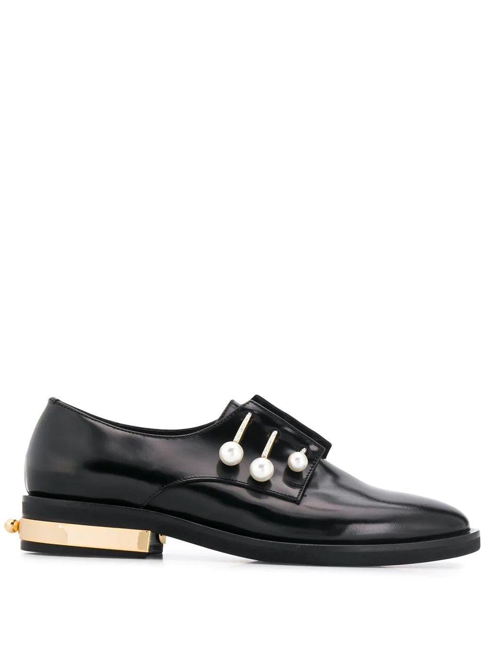 Fernanda 10mm 3 Bar Calf Brogue