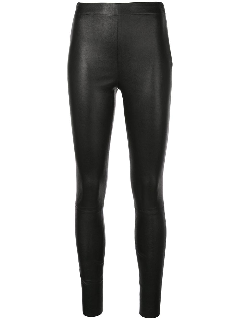 Maddox Leather High Waisted Legging
