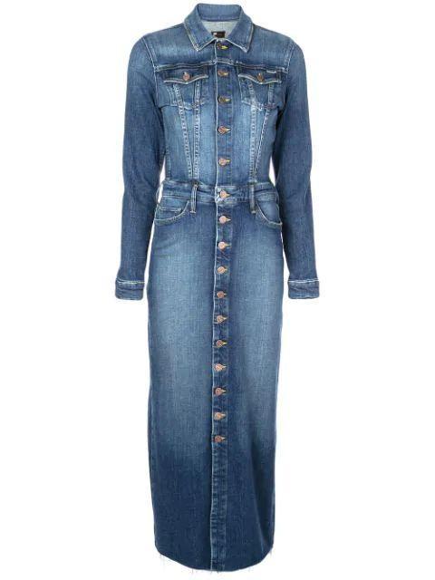 The Coverup Buttondown Denim Dress Item # 9393-624R20