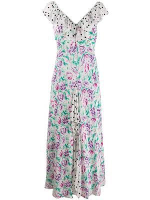 Antoinette Midi Dress With Frill