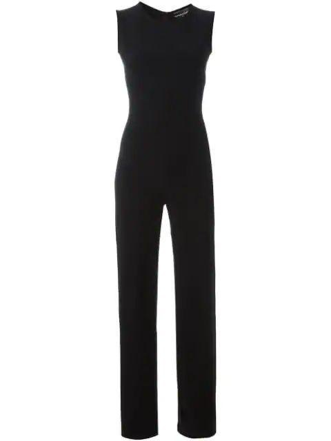 Sleeveless Jumpsuit Item # KKHL1304BLK