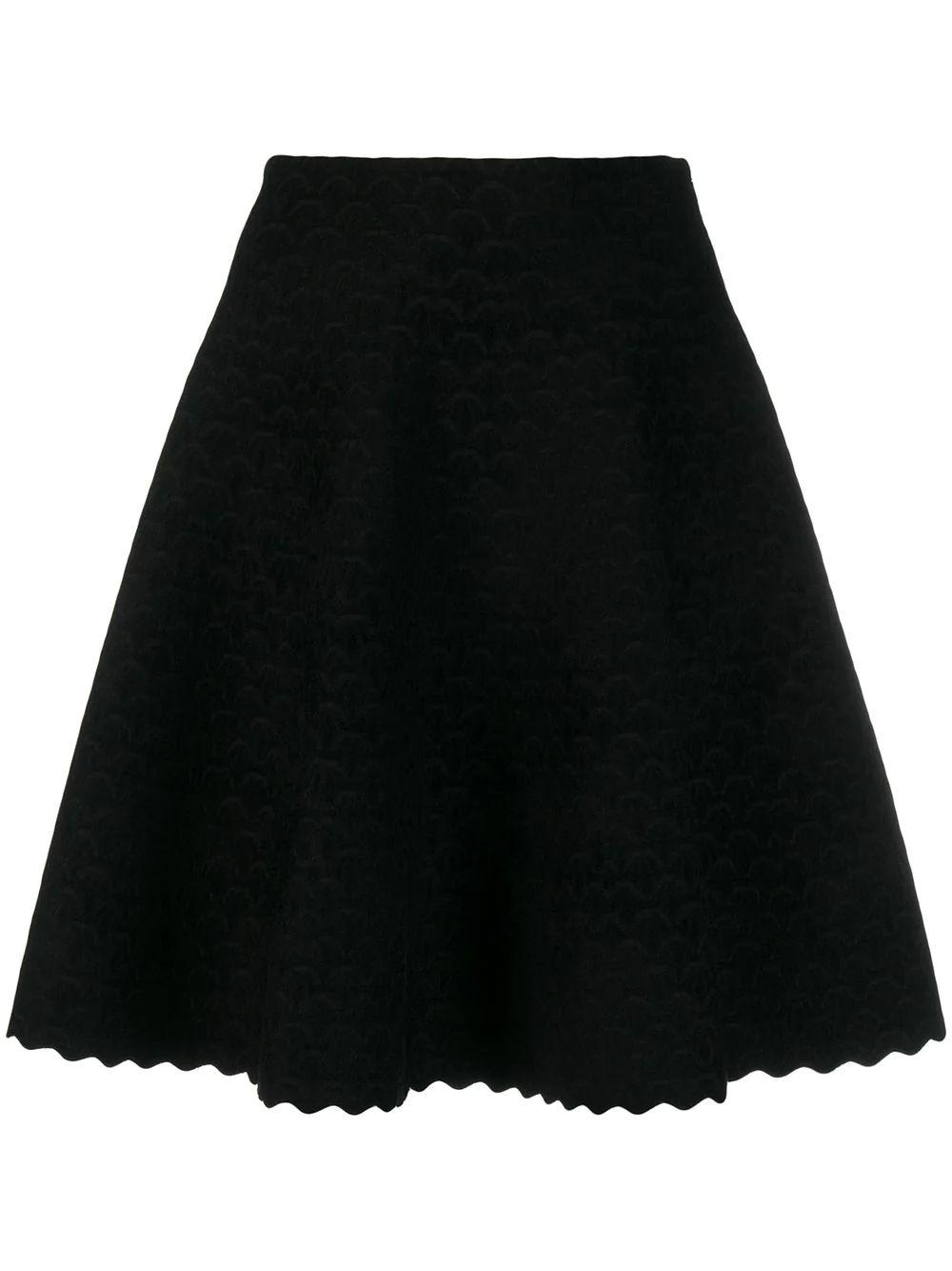 Scalloped Short Length Skirt Item # 9W9JE38CM496