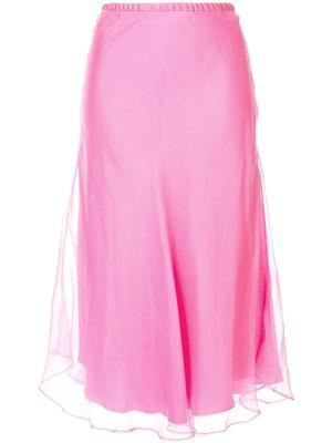 Sheer Overlay Skirt