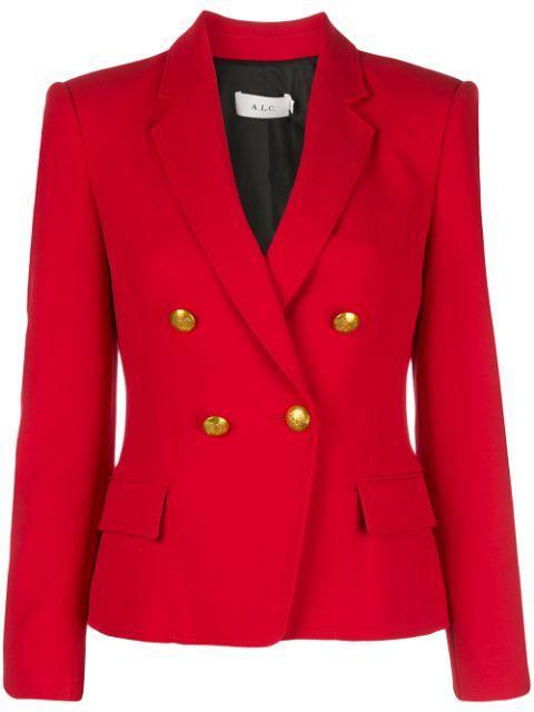 Hendrick Double Breasted Jacket Item # 1JAKT00333