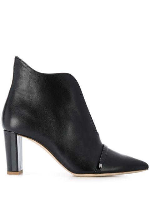 Pointed Toe 70mm Open Front Bootie