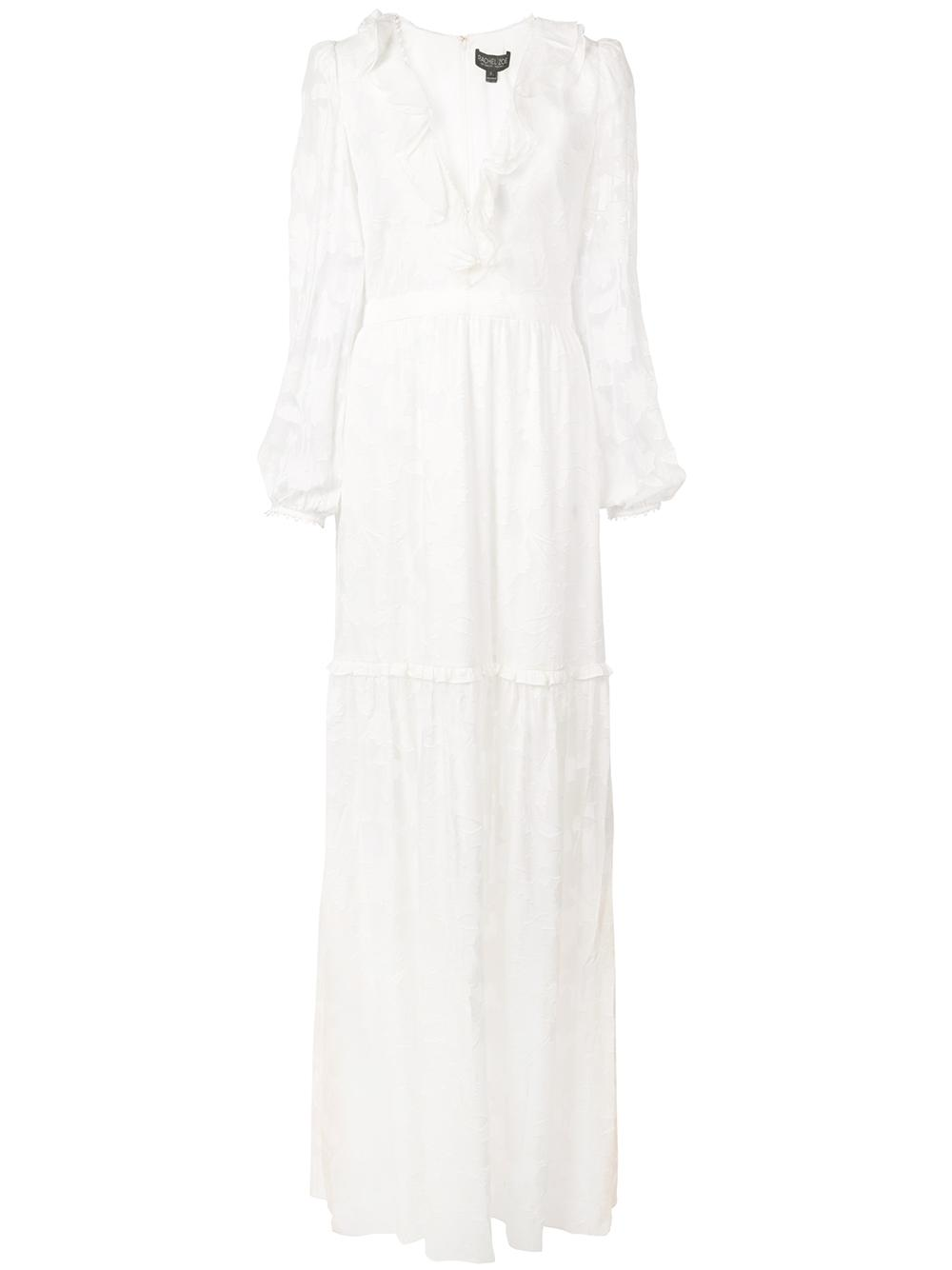 Alexis Deep Vee Maxi Gown
