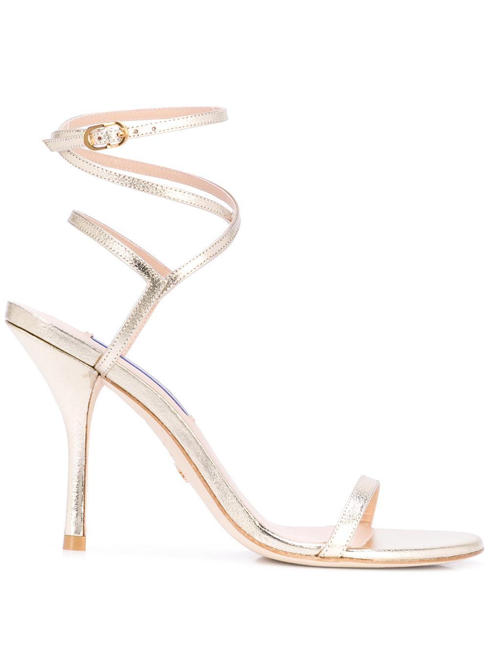 Lame 95mm Strappy Sandal Item # MERINDA