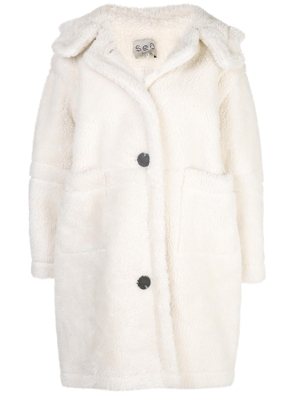 Sonnet Shearling Parka With Hoodie