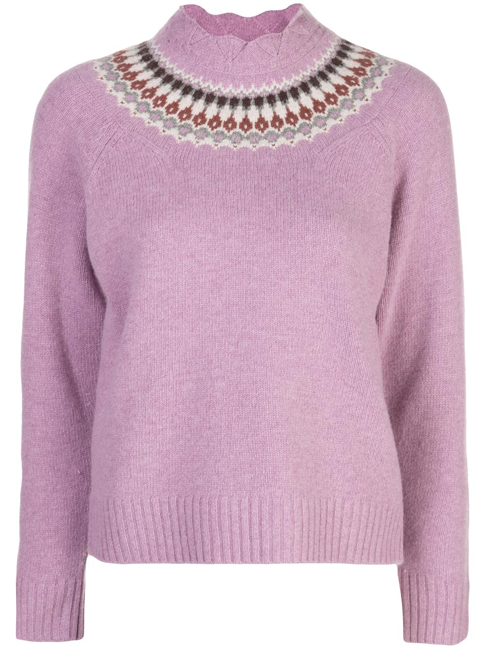Brie Fair Isle Sweater