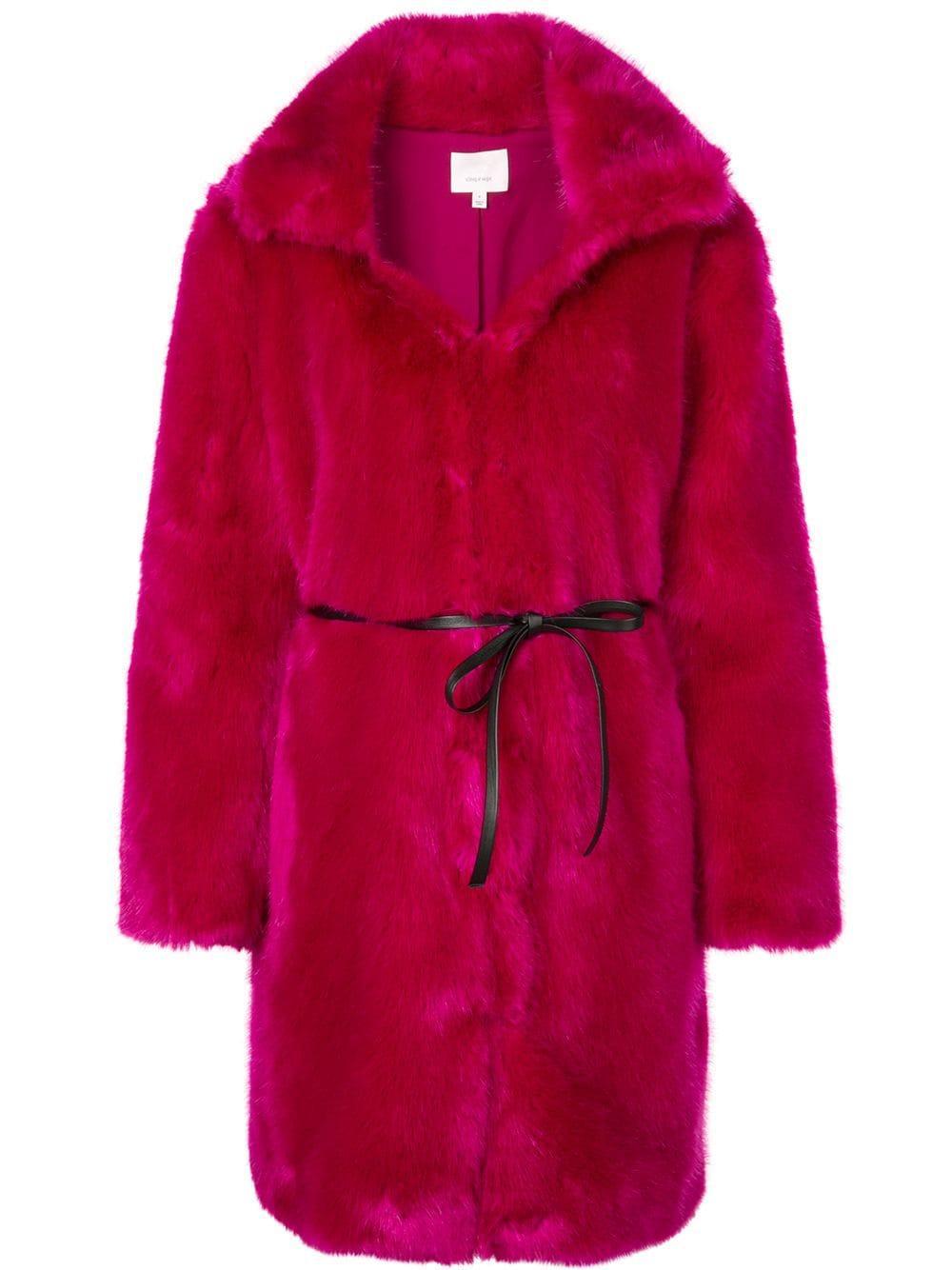 Sara Long Fur Coat Item # ZC0353169Z