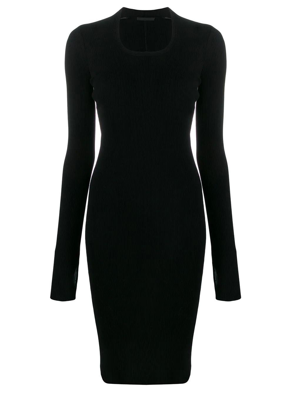 Longsleeve Rib Dress