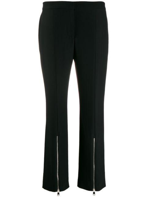 Zip Mens Cut Trousers