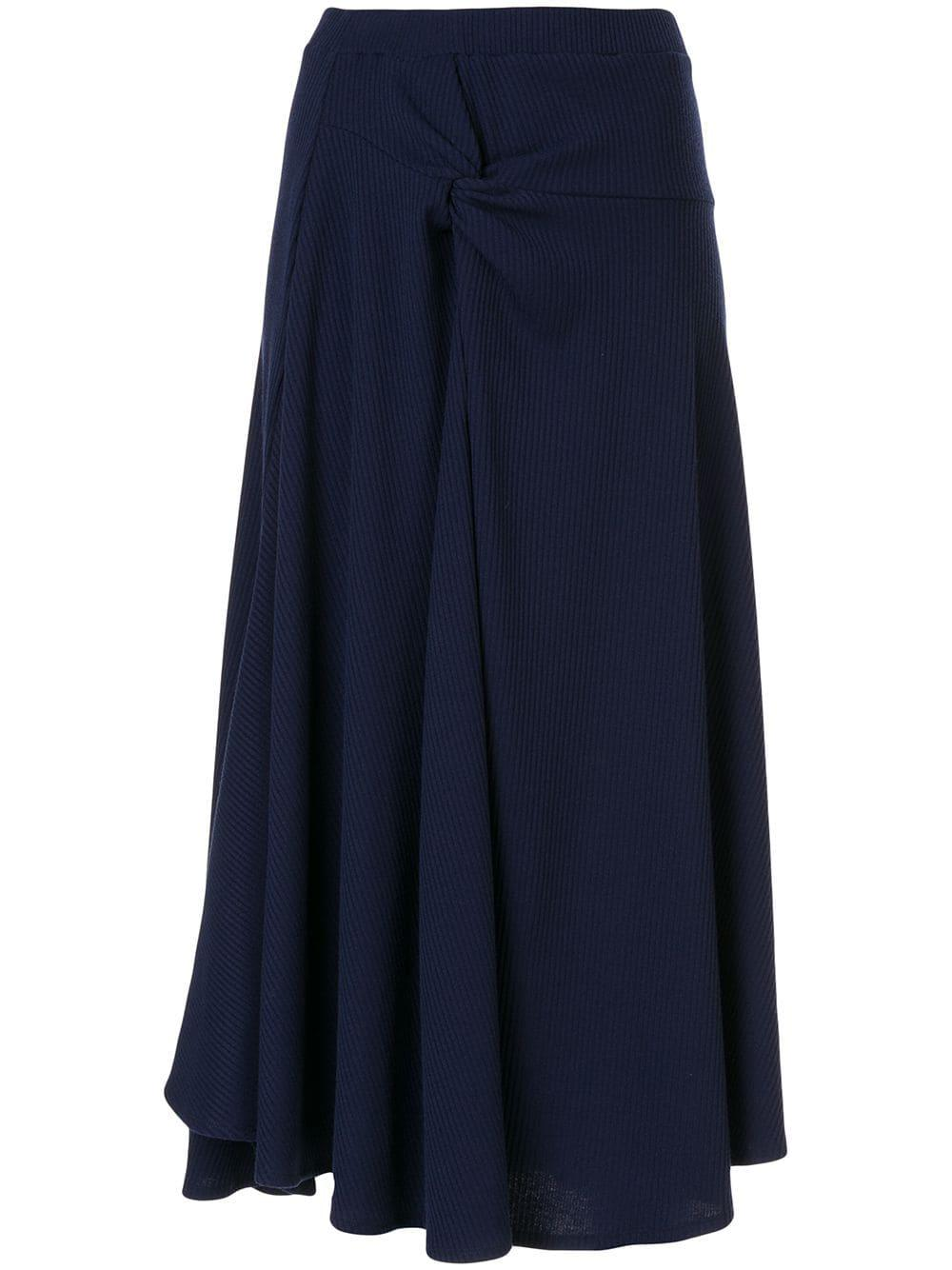 Twist Drape Skirt