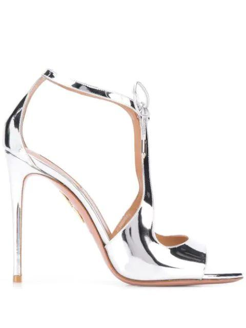 Oscar 105 mm Metallic Sandal