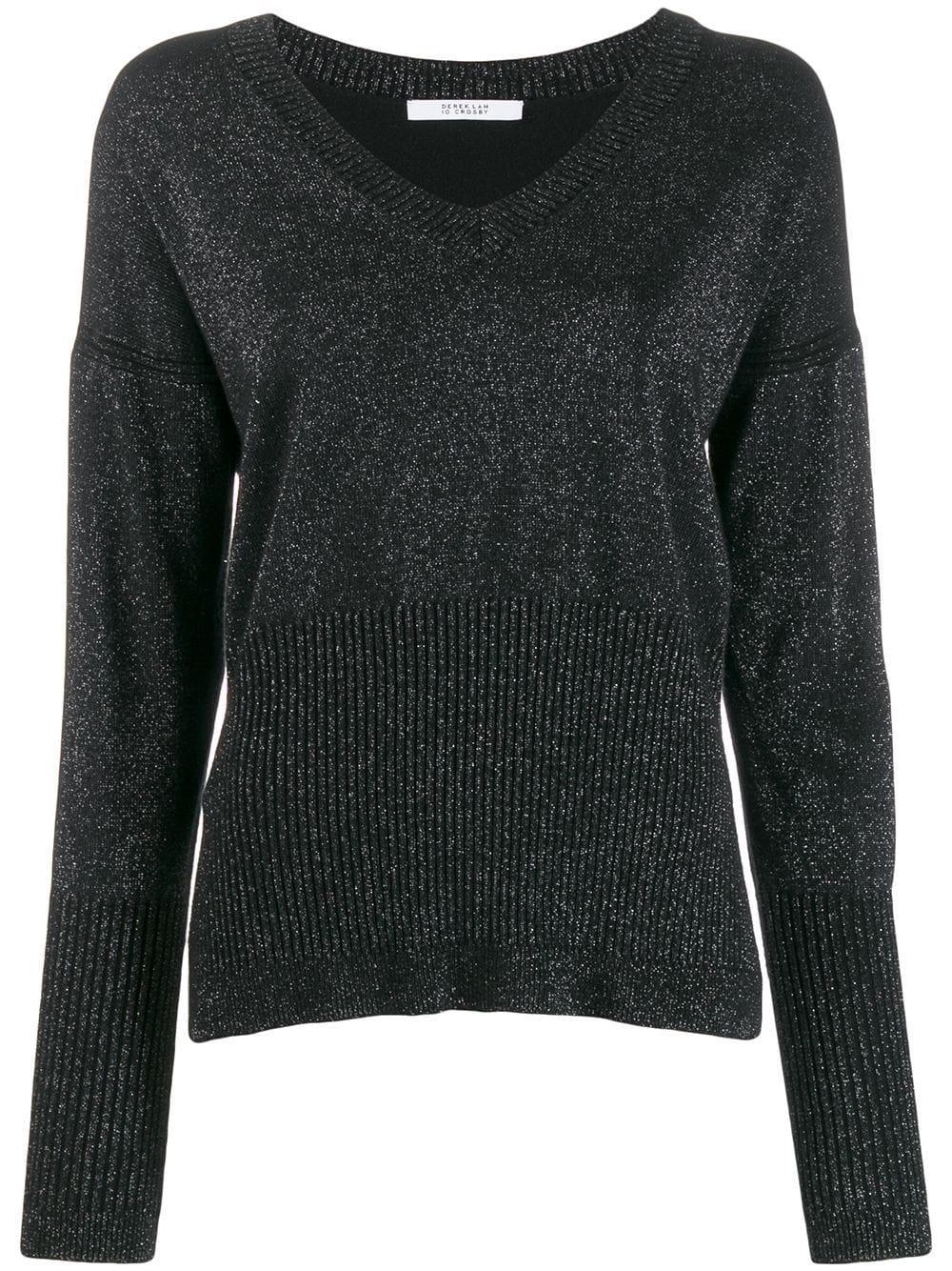 Wooster V- Neck Sweater Item # TF91949TC
