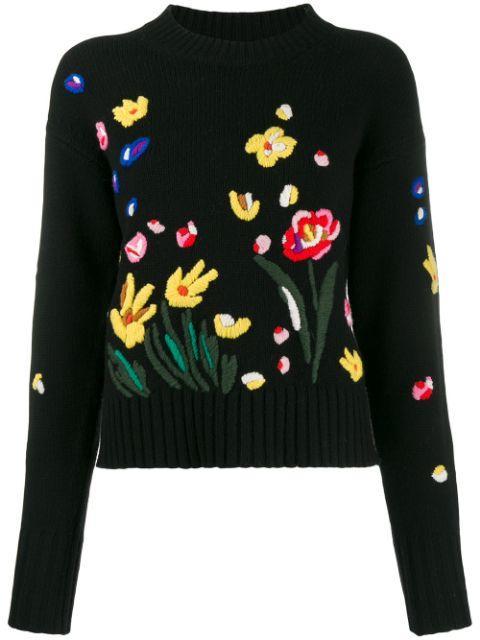 Charleston Embroidered Sweater