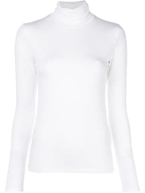 Viscose Elastane Long Sleeve Turtleneck