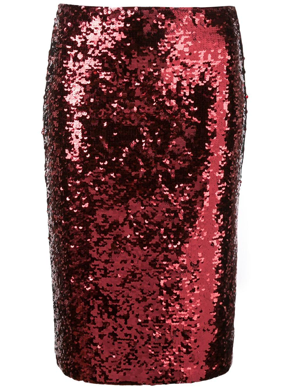 Ramos Embellished Fitted Skirt Item # CC908E70313
