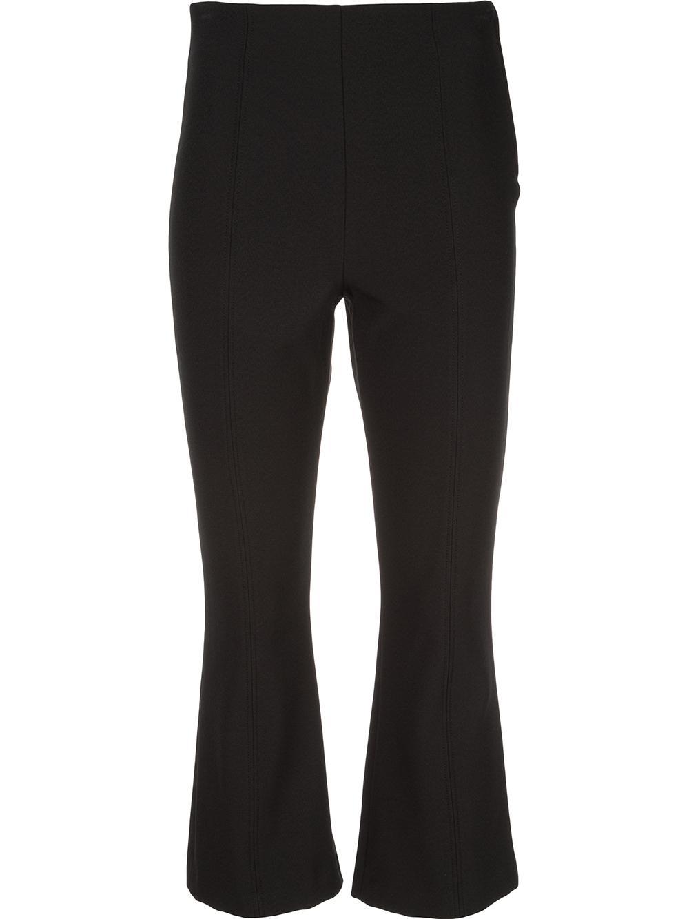 Drew Crop Flare Trouser