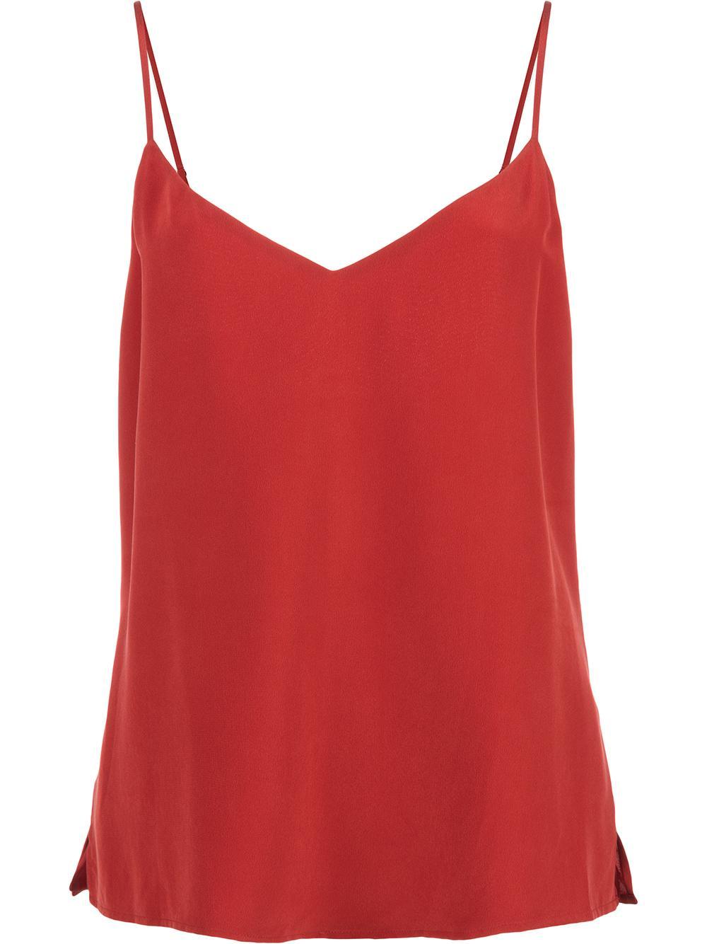 Jane Spagstrap Silk Camisole Item # 4713CDC-F19