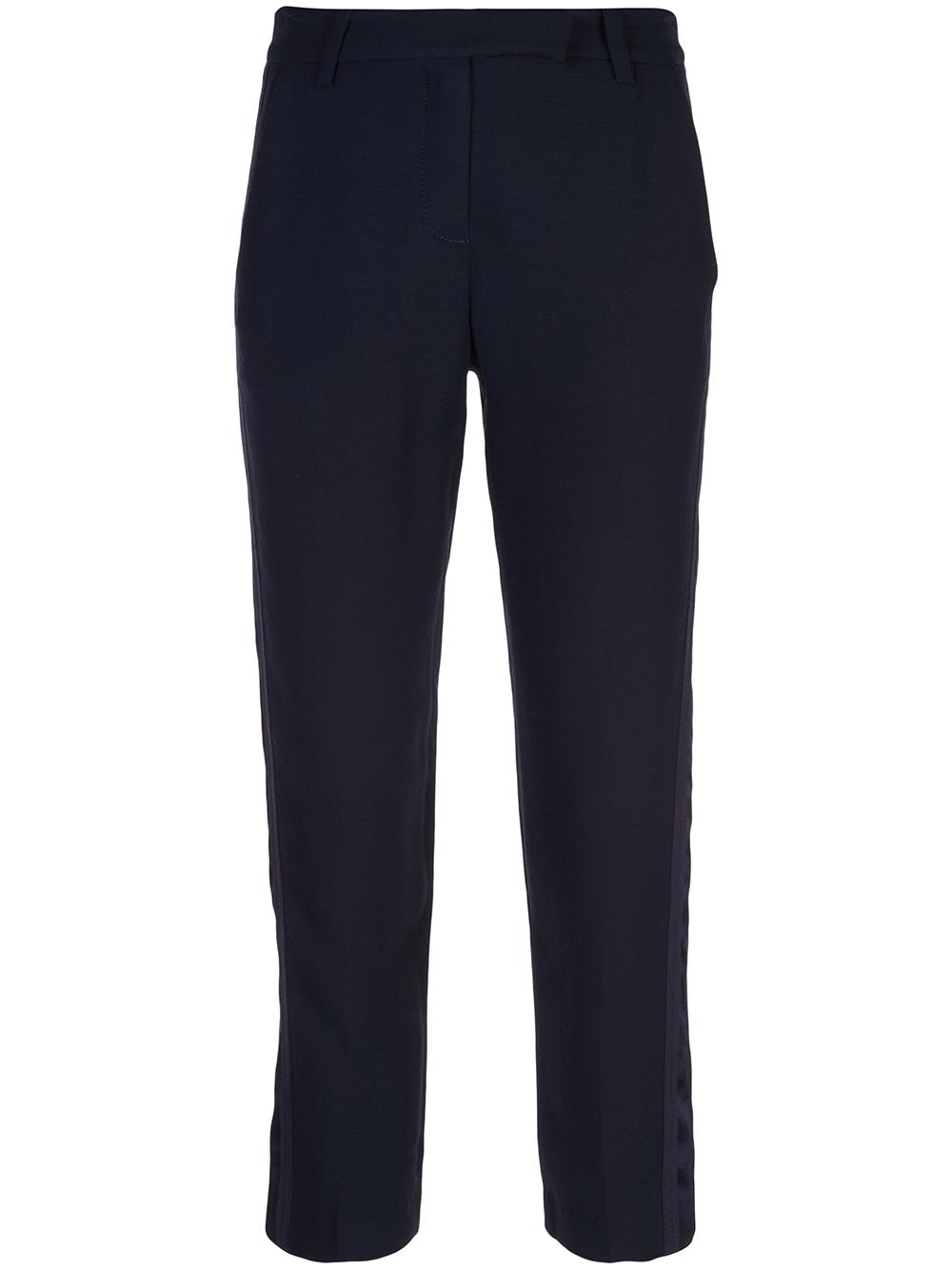 Tapered Pant With Satin Tuxedo Stripe