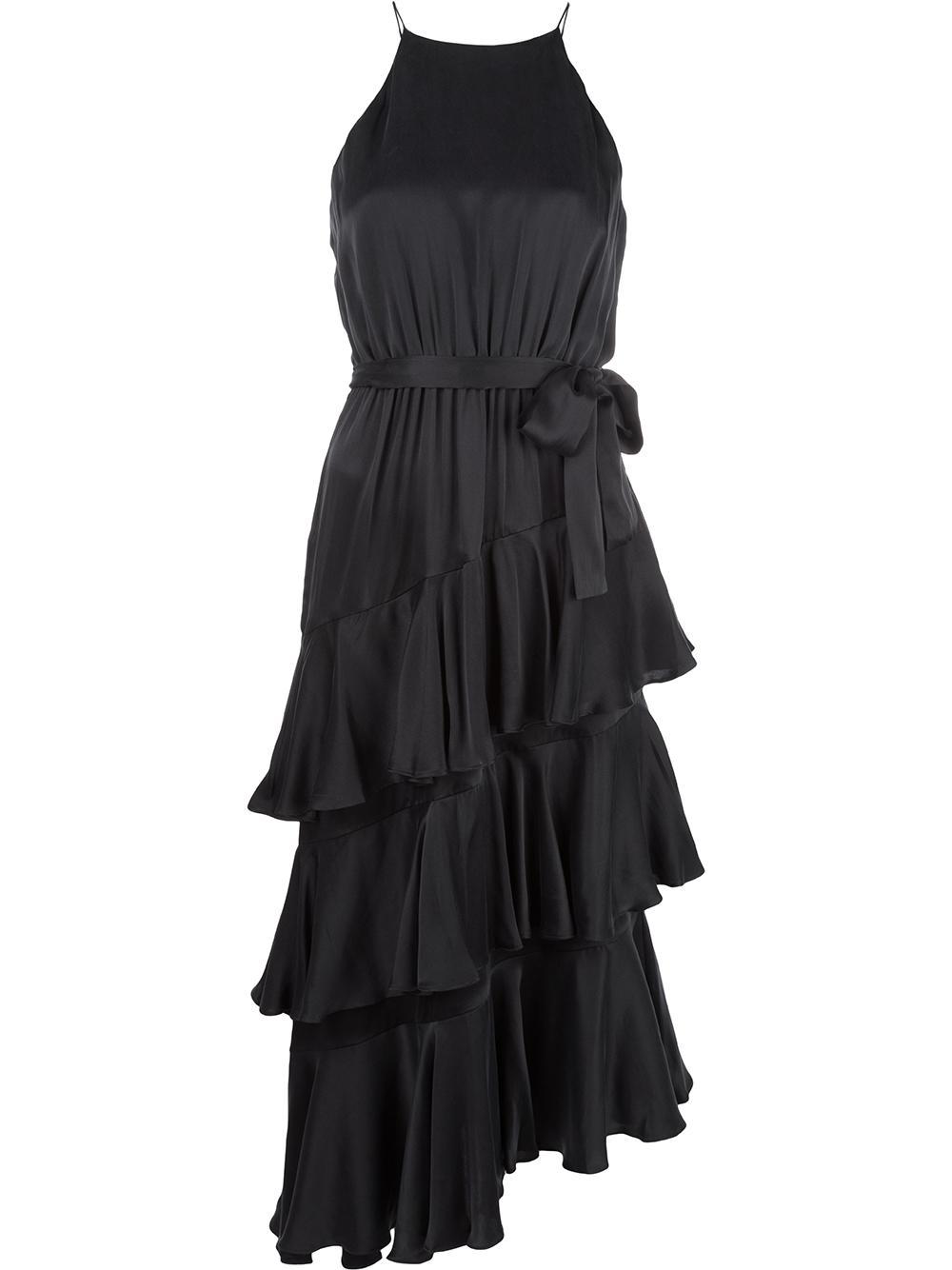 Espionage Silk Picnic Dress Item # 6889DRESP