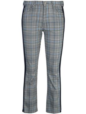 The Insider Plaid Ankle Racer