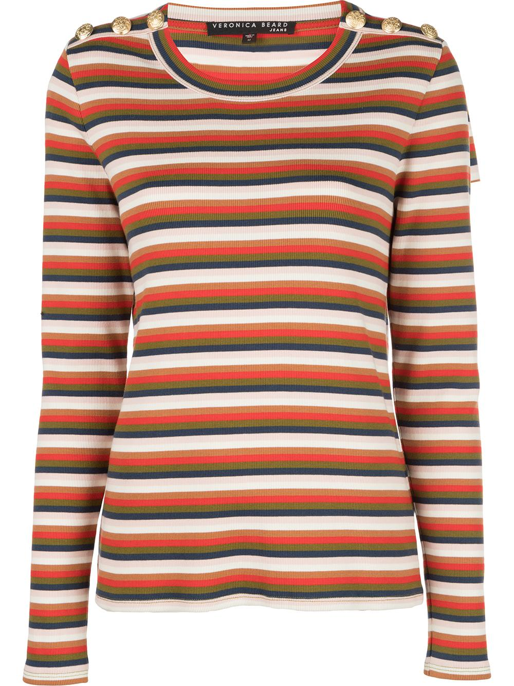 Mayer Long Sleeve Stripe Pullover Top