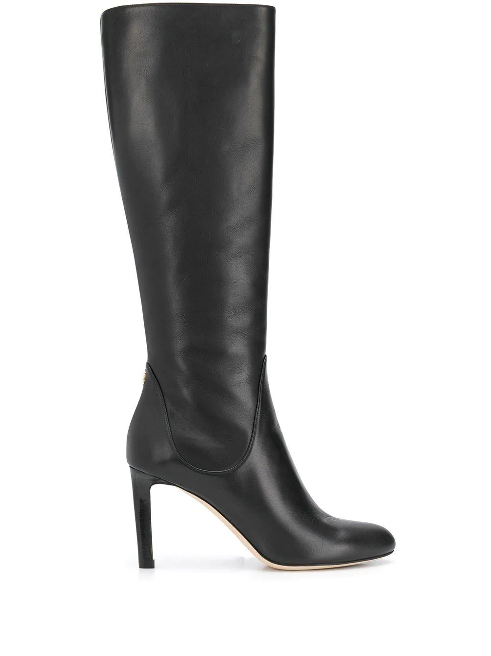 Leather 85mm Tall Boot Item # TEMPE85-CLF