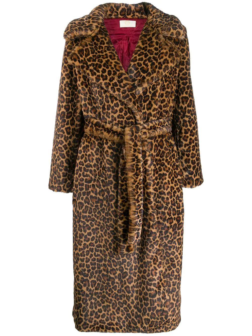 Long Faux Fur Coat Item # SB8006325W0