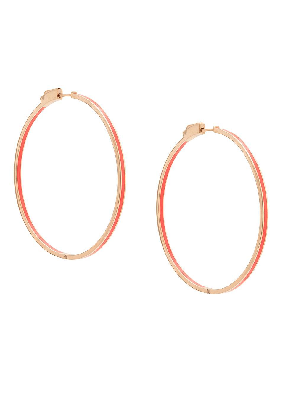 Kristi Enamel Hoop Earring Item # Y528N71202