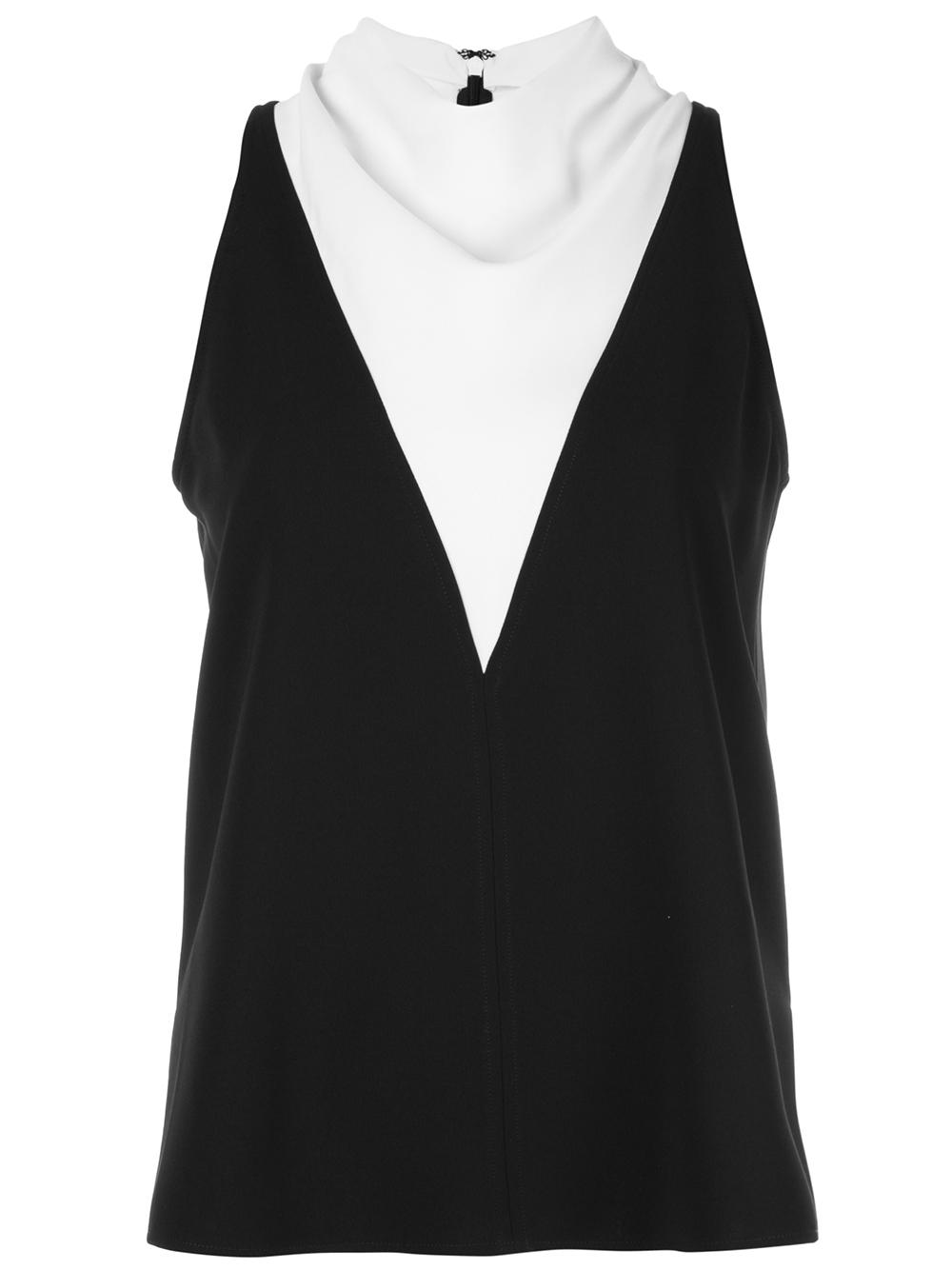 Cate Layered Cowl Neck Top Item # 5TOPS00640