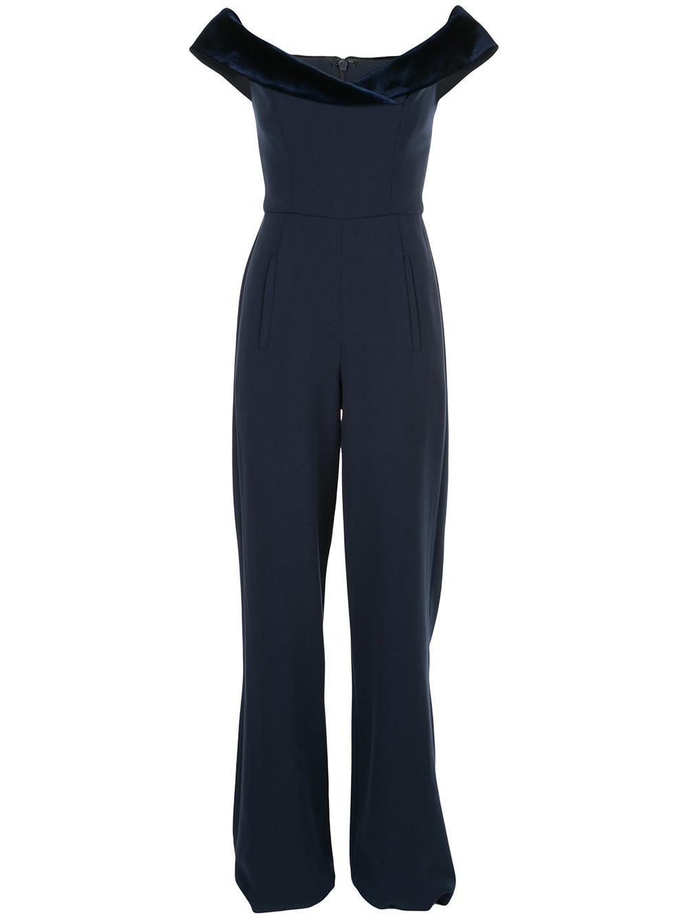 Yoli Velvet Combo Jumpsuit